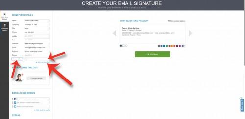 Como criar uma assinatura de email - Capítulo 11 do livro