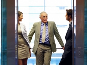 "Prepare and practice your ""elevator pitch"""