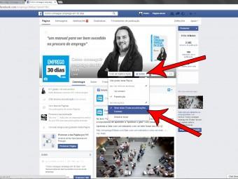 Follow companies on social media