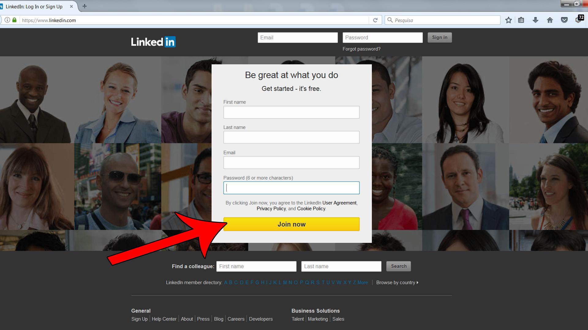 Setting up a profile on LinkedIn_01