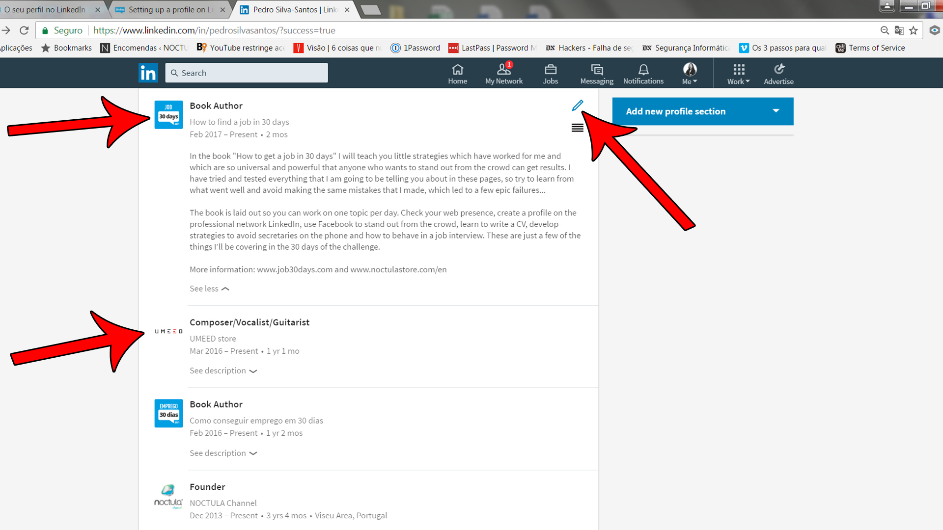 Setting up a profile on LinkedIn_04