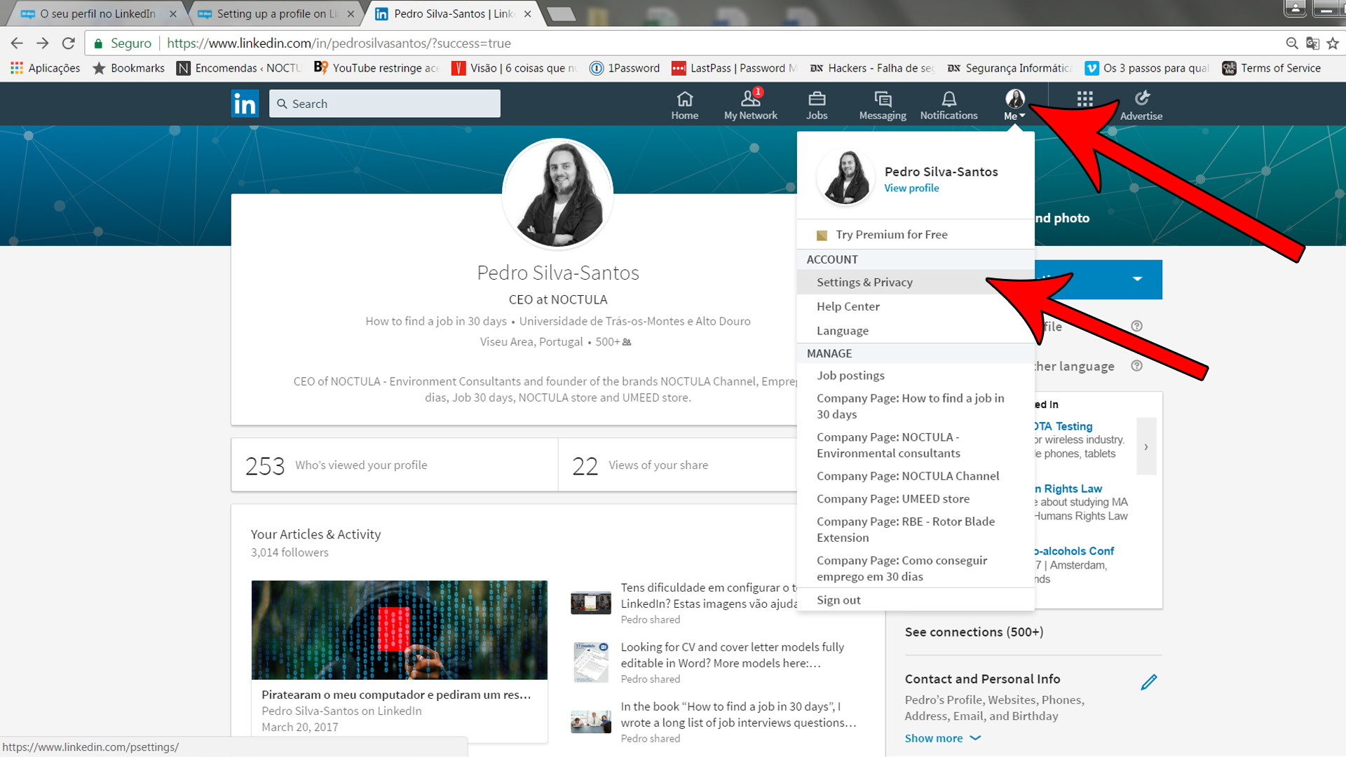 Setting up a profile on LinkedIn_05