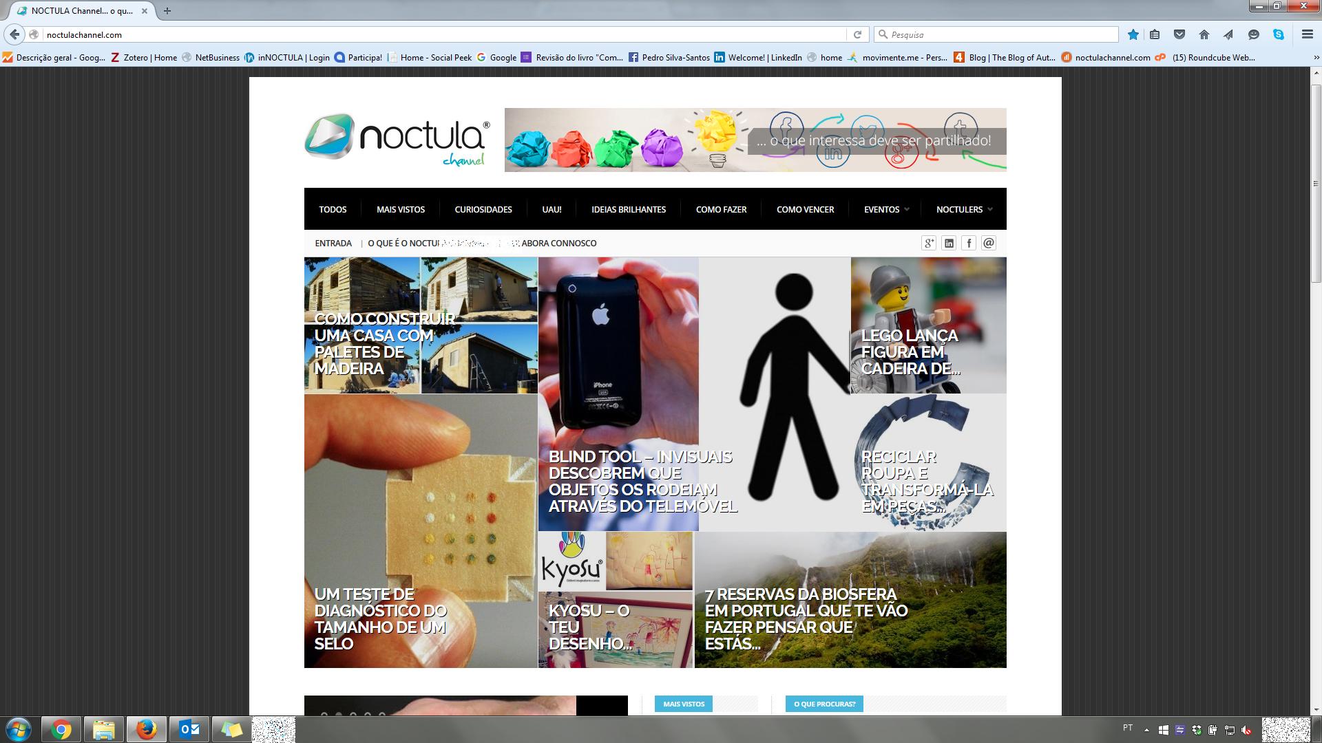 portal NOCTULA Channel - o que interessa deve ser partilhado