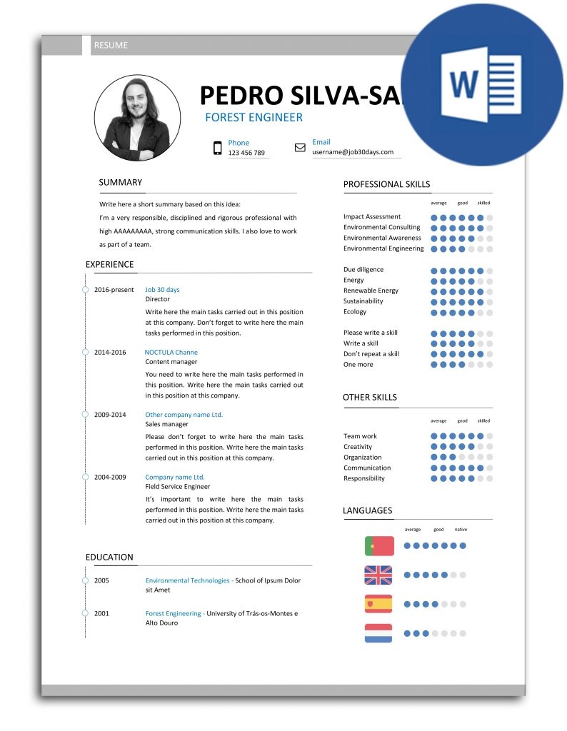 cv-pss-j30d-007-resume-model-fully-editable-in-word-without-flag