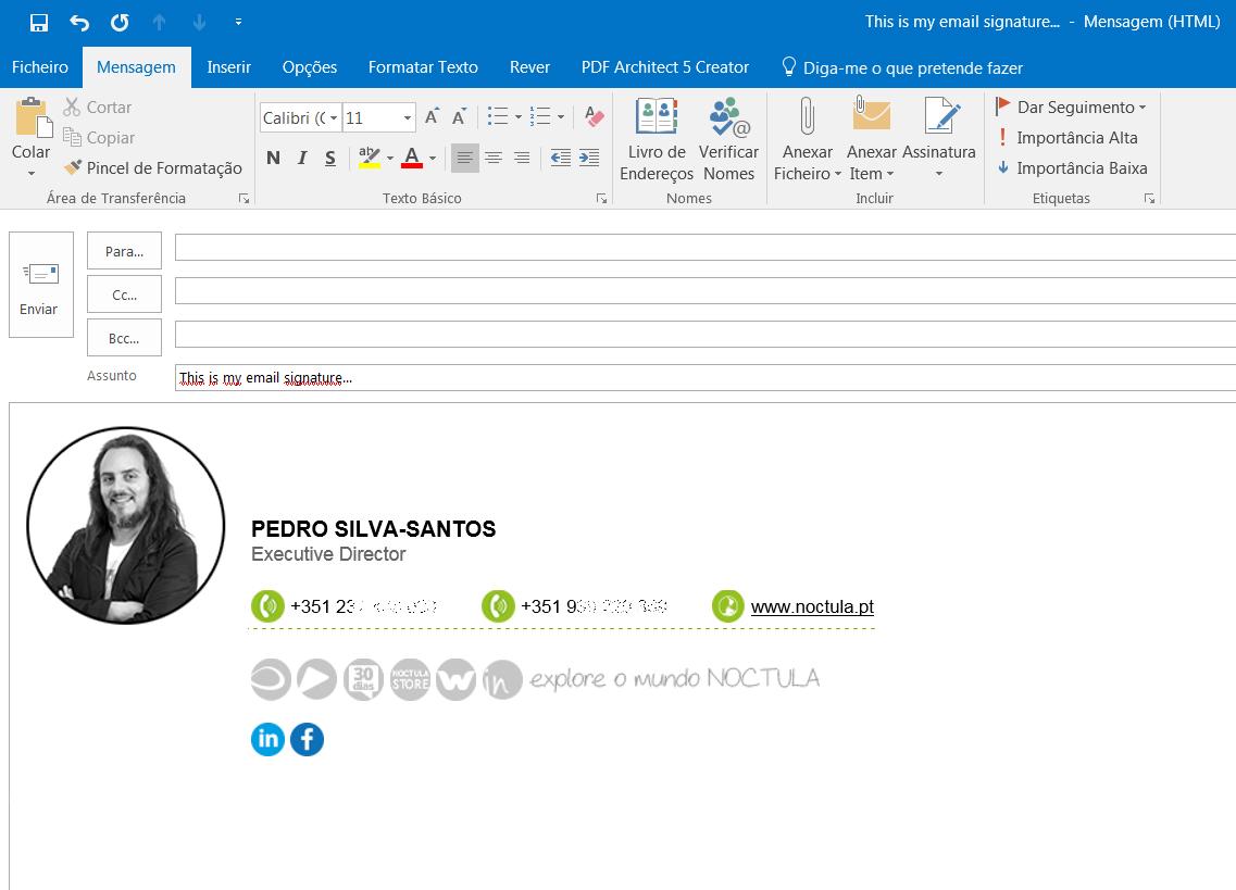 email signature - Pedro Silva-Santos